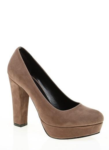Platform Topuklu Ayakkabı-Bambi
